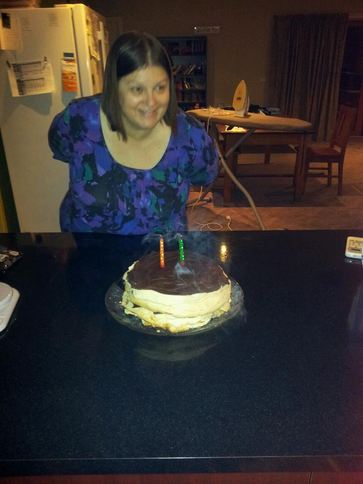 My Birthday Photo