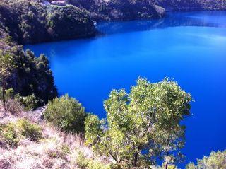 Blue Lake at Mt Gambier 2