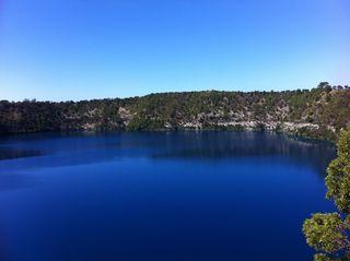 Blue Lake at Mt Gambier 1