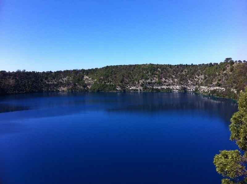 Blue Lake at Mt Gambier 1